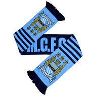 MANCHESTER CITY FC Licensed Wordmark Scarf