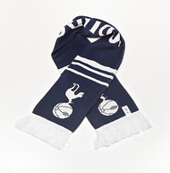 TOTTENHAM HOTSPUR (Spurs) FC Licensed Wordmark Scarf