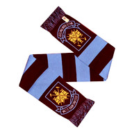 WEST HAM FC Licensed Woodmark Scarf