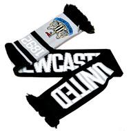 NEWCASTLE  UNITED FC Licensed Nero Scarf