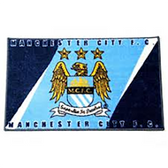 MANCHESTER CITY FC- Club Rug