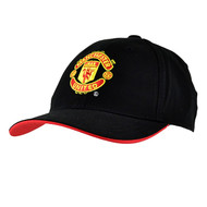 MANCHESTER UNITED  FC-Official EPL Black  Baseball Cap