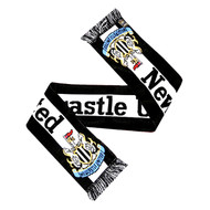 NEWCASTLE  UNITED FC Licensed Big Logo Scarf
