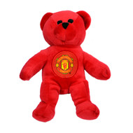 MANCHESTER UNITED FC Licensed Beanie Bear