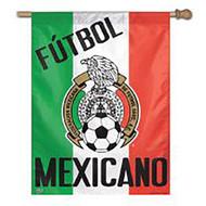 FUTBOL MEXICANO Vertical Flag