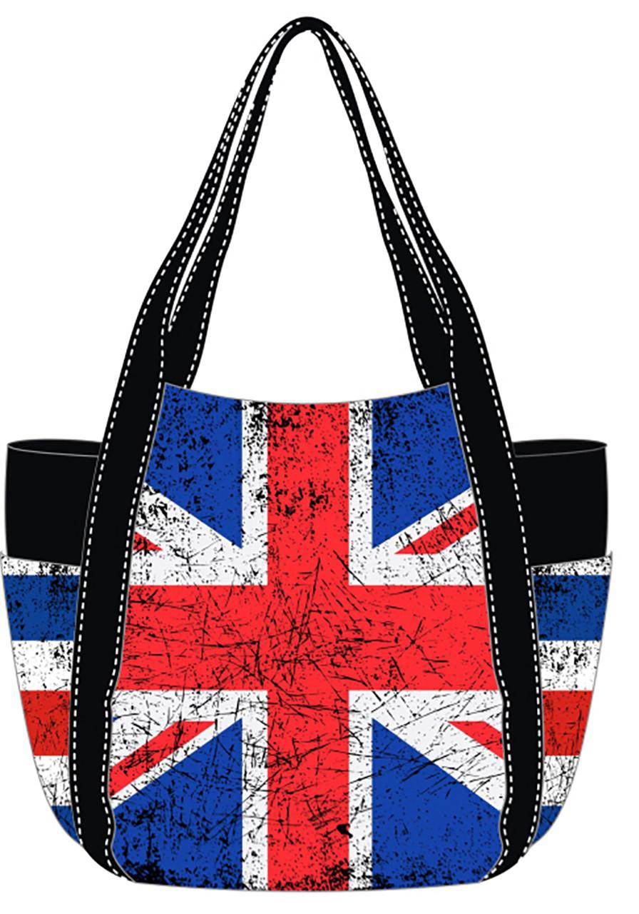 a9076c40b0e8 Robin Ruth Ladies Paris Vintage Union Jack Style Bag