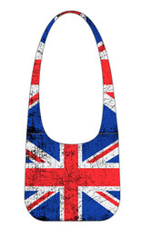 Robin Ruth Ladies Eva Vintage Union Jack Sling Style Bag