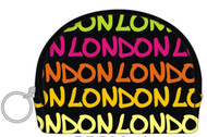 Robin Ruth Licensed London Large Jane  Yellow/ Pink Coin Purse