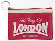 Robin Ruth Licensed London Nicole Red/ White Coin Purse