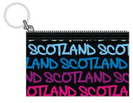Robin Ruth Licensed Scotland Nicole Blue/Pink Coin Purse