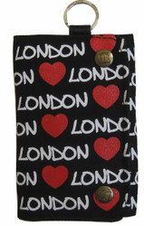 Robin Ruth Licensed London Grace Red Hearts Wallet