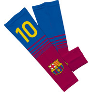 Barcelona FC Sleefs Compression Sleeves -Messi #10 Pair