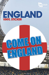 LONDON / ENGLAND Vinyl Stickers- Come on England