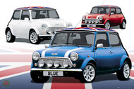 LONDON- Mini Coopers of London Poster-#411