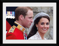 LONDON/ ROYALS Framed Photos- Kate and Wills Wedding