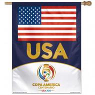 A-COPA AMERICA 2016 USA/ Copa Vertical Flag
