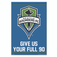 MLS Licensed Seattle Sounders Crest-#93