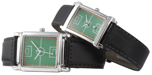 The Soccer Watch - Classic Analog Design, Leather Strap - Buy online SoccerMadUSA.com