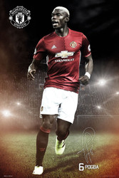 MANCHESTER UNITED POGBA  Official Soccer Player Poster 2016/17-#388