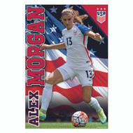 US Womens Alex Morgan-Home Off Scr Pstr 16/17 #113