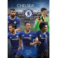 CHELSEA FC Official Team Calendar 2017