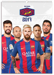 BARCELONA FC Official Team Calendar 2017