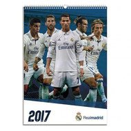 REAL MADRID FC Official Team Calendar 2017