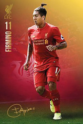 LIVERPOOL FIRMIMO Official Soccer Player Poster 2016/17-#395