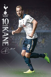 TOTTENHAM SPURS KANE Official Soccer Player Poster 2016/17-#384