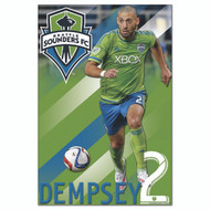MLS Licensed Seattle Sounders Player DEMPSEY, #94