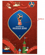2018 FIFA World Cup Russia Trophy Poster
