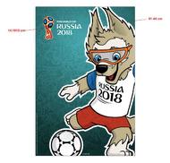 2018 FIFA World Cup Russia Mascot Poster