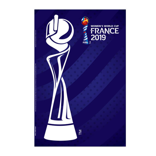 Women's World Cup 2019 Trophy Poster