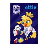 Women's World Cup 2019 Mascot Poster- Ettie