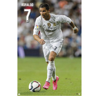 Cristiano Ronaldo Real Madrid Action Soccer Player Poster 2015/16 - Buy Online SoccerMadUSA.com