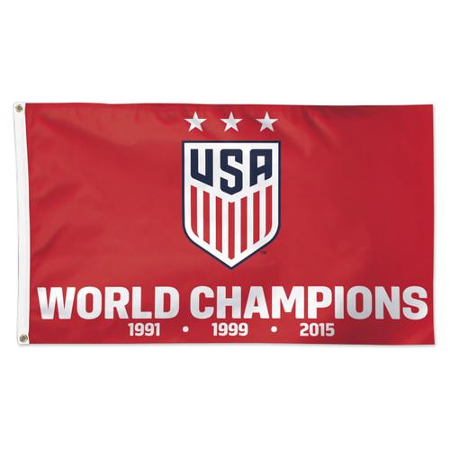 US Women's National Team Premium Fan Flag