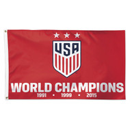 US Women's National Team Premium Fan Flag