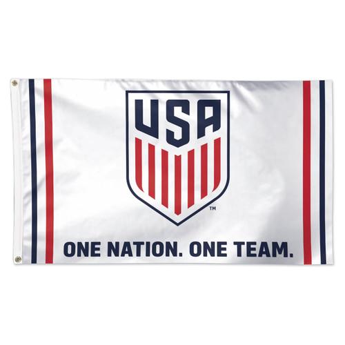 "US Men's National Team ""One Nation"" Premium Fan Flag"