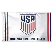 "US Men's National Team ""One Nation"" Premium Fan Flag"