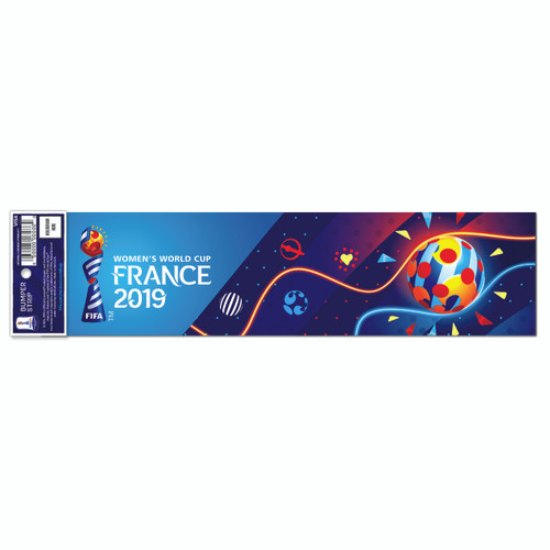 Womens World Cup Bumper Sticker