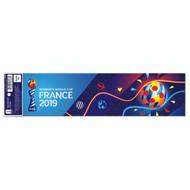 Womens World Cup Bumper Sticker