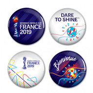 WWC 19 - Button Badgepack Set of 4