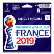 WWC 19 - Die Cut Magnet