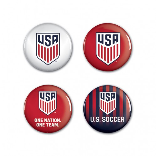 USWNT - Button Badgepack Set of 4