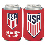 USWNT - Can Cooler   Red