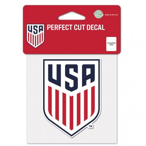 "USWNT - Perfect Cut Decal 4"" x 4"""