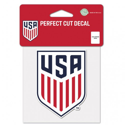 "USWNT - Perfect Cut Decal 4"" x 4"""