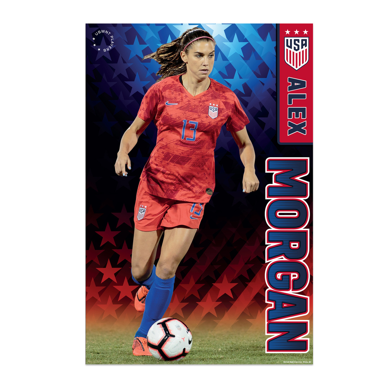 factory authentic 4c407 646f4 Alex Morgan Action Poster 2019