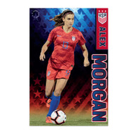 Alex Morgan Action Poster 2019 US Women's National Soccer Team