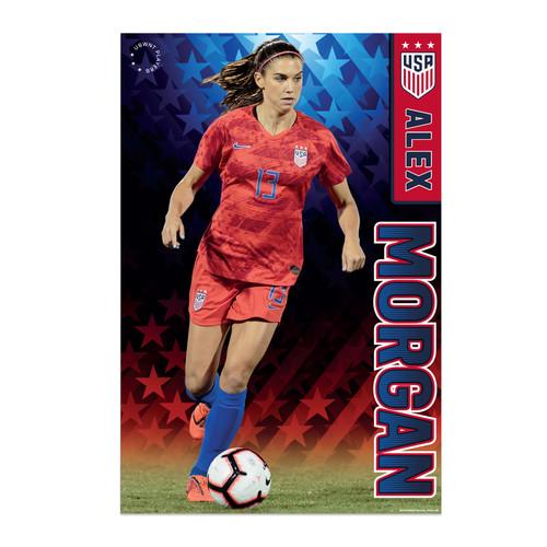 Alex Morgan Action Poster 2019 US Women's National Soccer Team